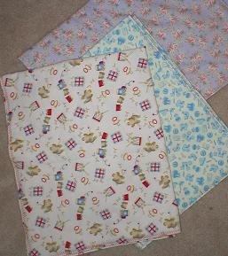 Bib Pattern: Smock Bib Reuses Old Receiving Blankets and